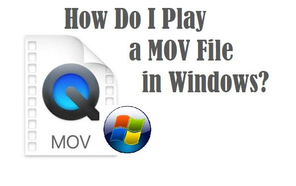 how do i play mov files in windows 10