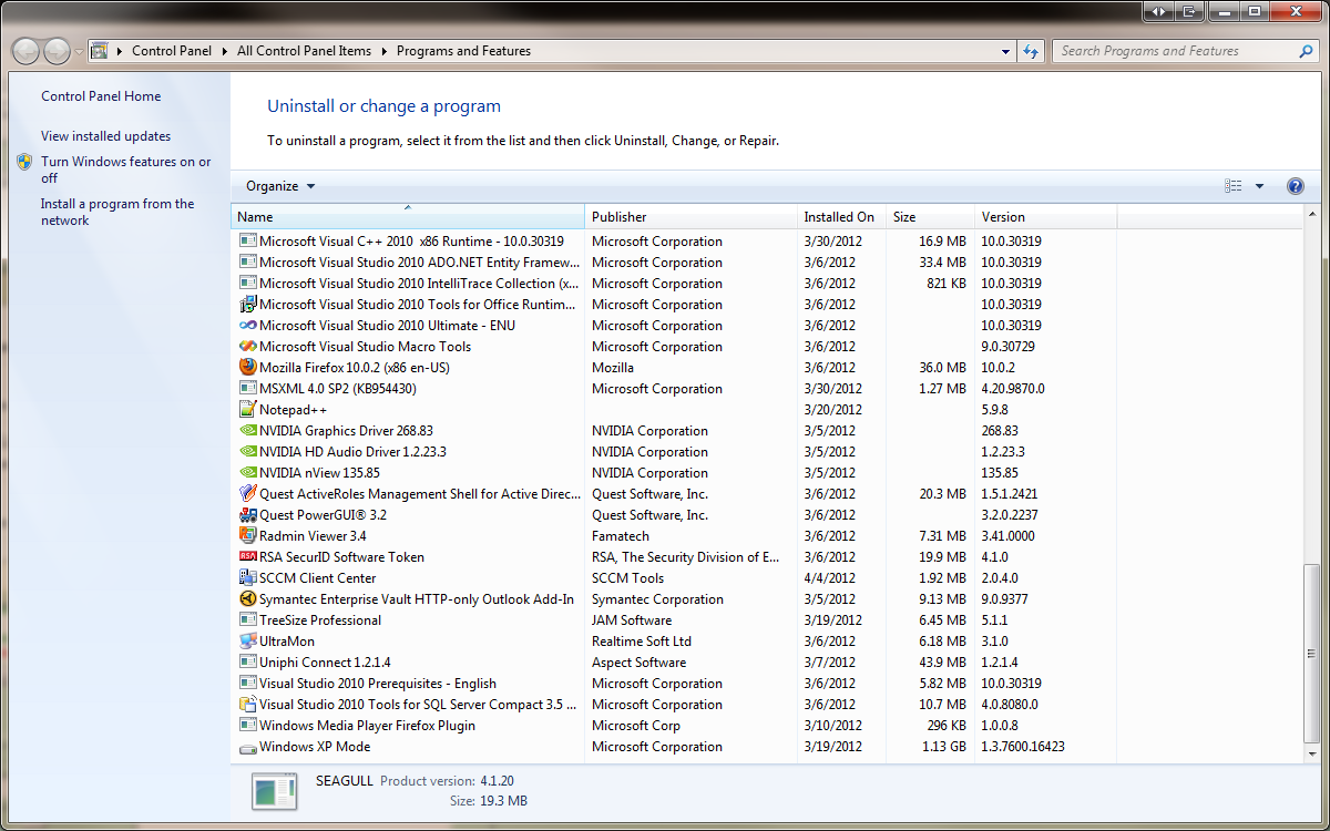 how to delete programs that are not in control panel
