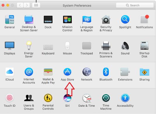 Select App Store
