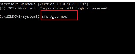type-sfc-scannow
