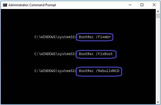 bootrec-commands