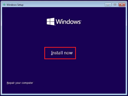 click-install-now-button-windows10-setup