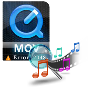Repair MOV File after QuickTime Error 2048 Couldn\u0027t Open File