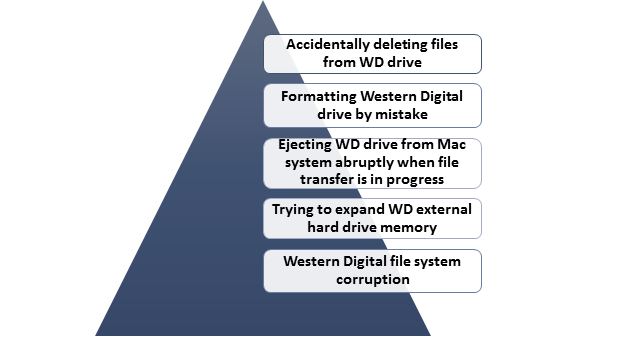 How to Recover Western Digital Drive Data?