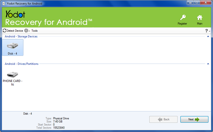 yodot android data recovery software free download