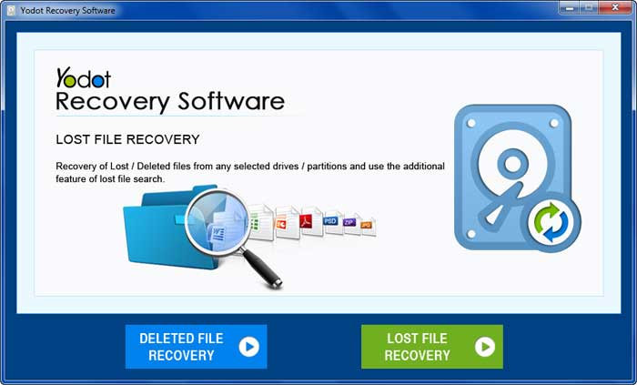 Choose Lost File Recovery