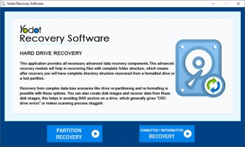 Free download Yodot Hard Drive Recovery Software