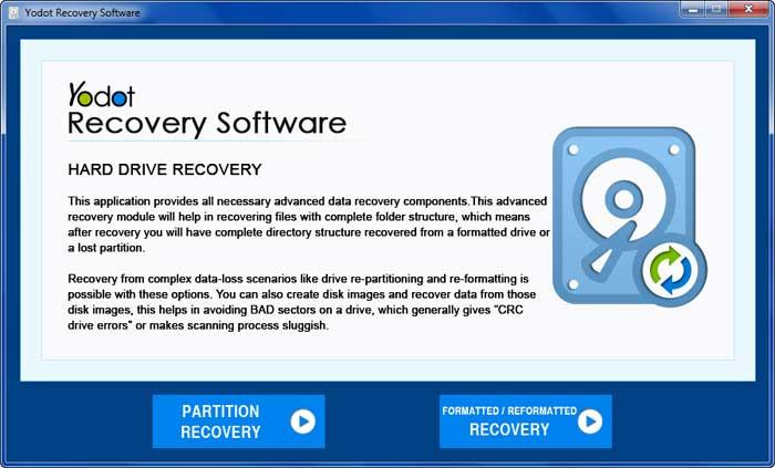 Windows 7 Yodot Hard Drive Recovery 3.0.0.112 full