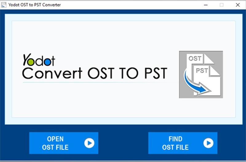 Yodot OST to PST Converter for Windows