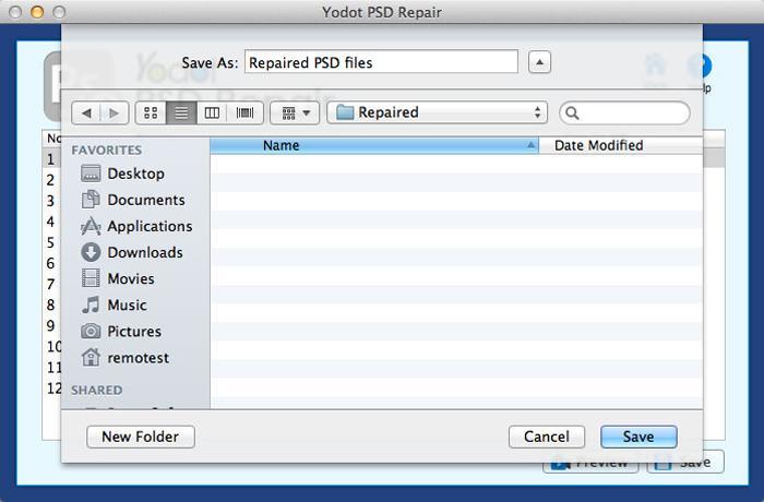 Yodot PSD Repair - Fix Corrupt PSD and PDD Files