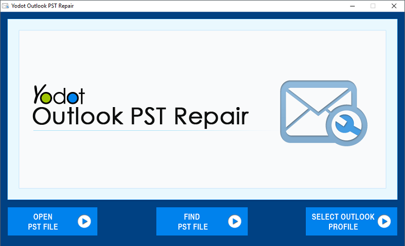 Yodot Outlook PST Repair screenshot